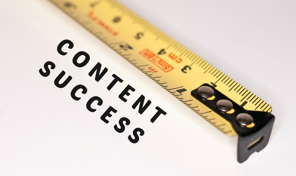 how to measure content success