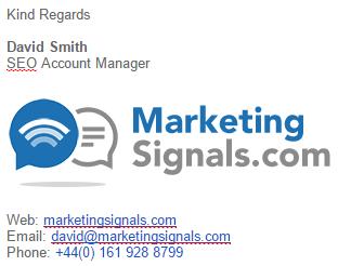 Marketing Signals Email Signature