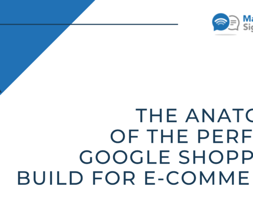 The Anatomy of the Perfect Google Shopping Build for eCommerce