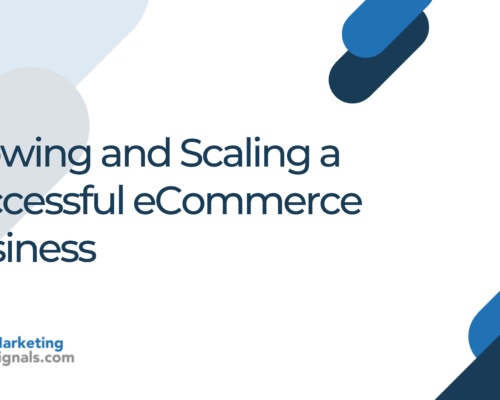 Growing and Scaling a Successful eCommerce Business