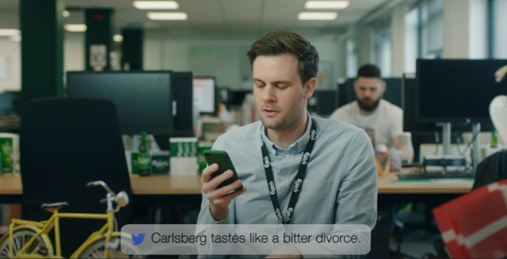 Digital PR Examples - Carlsberg