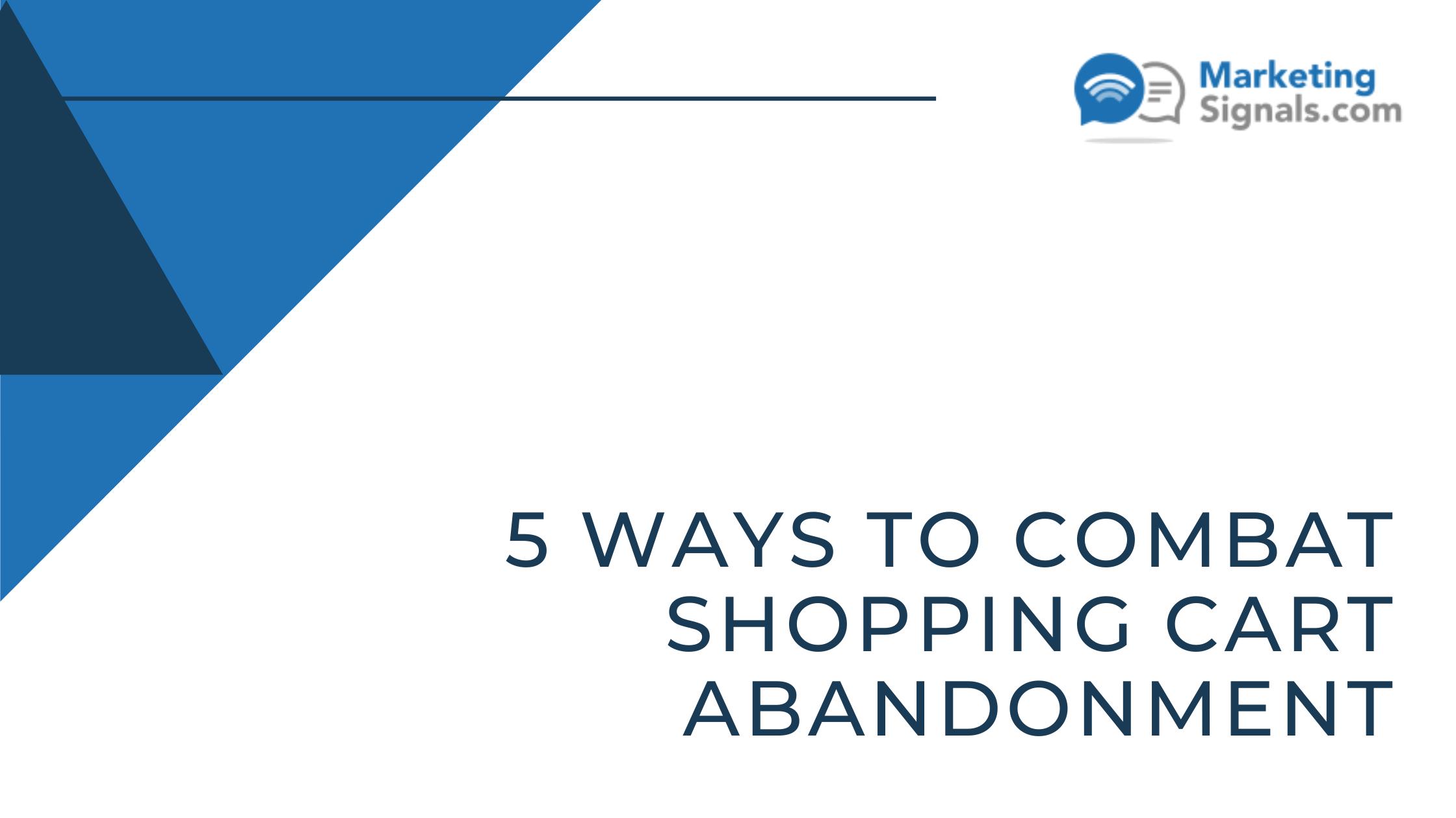 combat-shopping-cart-abandonment